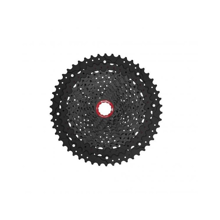 Sunrace pacco pignone CS-MZ90 11-50 12V nero